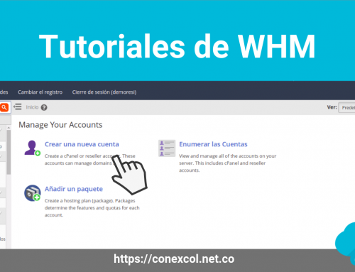 Tutoriales de WHM