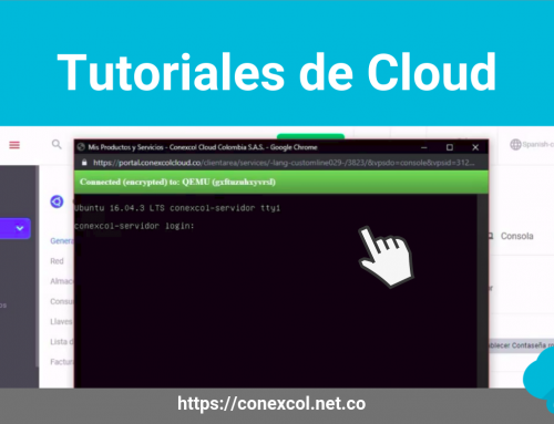 Tutoriales de Servidores Cloud