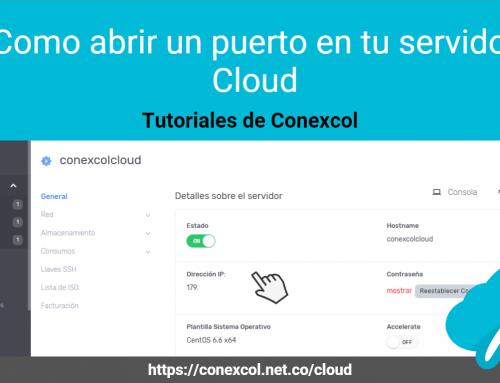 Como abrir un puerto en tu servidor Cloud